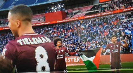 Bendera Palestina Berkibar Saat LeicesterCity Rayakan Kemenangan Meraih Piala FA