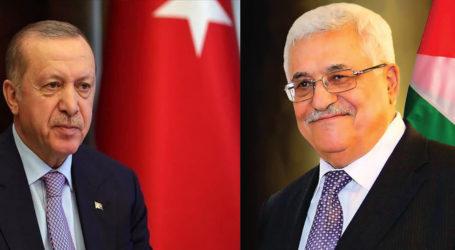 Abbas Terima Telepon dari Erdogan Bahas Palestina