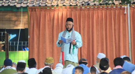 Ustaz Syaiful Bahri: Kaum Muslimin Harus Peduli Palestina