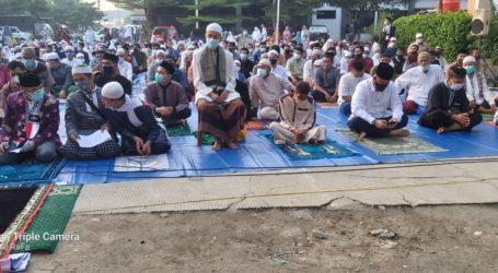 Jama'ah Muslimin (Hizbullah) Wilayah Bekasi Gelar Salat Id dengan Prokes Ketat