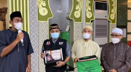 Jama'ah Masjid Ad-Du'a Bandar Lampung Galang Dana untuk Palestina