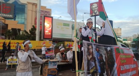 Al-Aqsha Kembali Diserang, AWG Kaltim Gelar Aksi Solidaritas