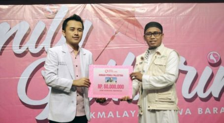DRW Skin Care Salurkan Donasi Melalui AWG Tasikmalaya