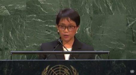 Menlu RI Menyebut Israel Negara Penjajah di Markas PBB