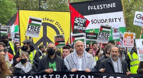 150 Ribu Warga Inggris Gelar Aksi Solidaritas Palestina