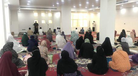 Warga Shelter KJRI Jeddah Berlebaran dengan Opor Ayam, Sayur Lodeh dan Bakso