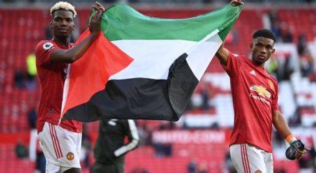 Pemain MU Pogba dan Diallo Kibarkan Bendera Palestina