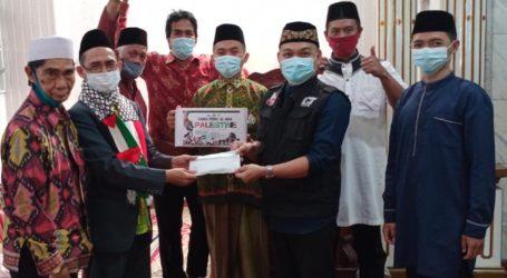 Masjid Taqwa Gunung Sari Bandar Lampung Peduli Palestina