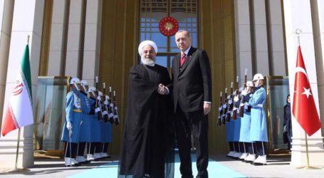 Rouhani Telepon Erdogan, Seru Negara Muslim Hentikan Kekejaman Israel