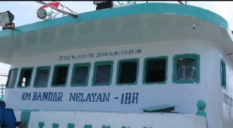 Seluruh Awak KM Bandar Nelayan 188 Berhasil Diselamatkan