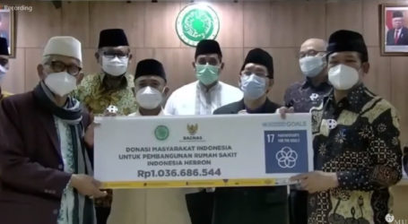 Baznas Bantu Pembangunan RS Indonesia di Hebron, Tepi Barat