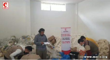 MER-C Salurkan 1.000 Paket Sembako dan Iftar untuk Warga Gaza