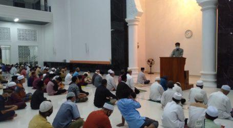 Masjid Terbesar di Lampung Ini Sajikan Update Informasi Palestina