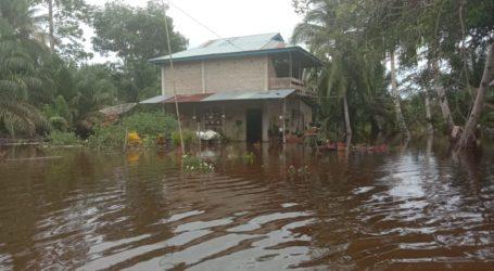 BNPB: Banjir Masih Genangi Tiga Desa di Aceh Selatan