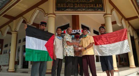 Masjid Darussalam Lampung Selatan Galang Dana untuk Palestina