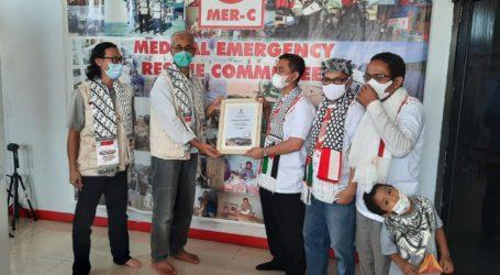 ASBISINDO Salurkan Donasi Rp100 Juta untuk Palestina Melalui MER-C