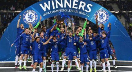 Kalahkan Man City, Chelsea Juara Liga Champions 2020-2021