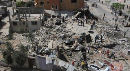Menteri Ekonomi: Agresi Israel Hancurkan 15 Pabrik di Zona Idustri Gaza