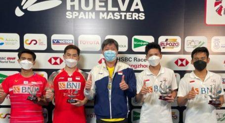 Badminton: Raih 4 Gelar, Indonesia Juara Umum Spain Maters 2021
