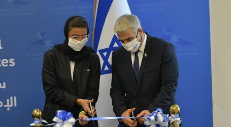 Menlu Israel Lapid Kunjungi UEA Resmikan Kedubes Israel Pertama di Teluk