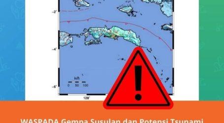 BMKG: Waspada Potensi Gempa dan Tsunami Susulan di Maluku