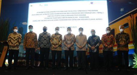 BSI Salurkan Pembiayaan Sindikasi Bangun Rel Kereta Api Makassar-Parepare