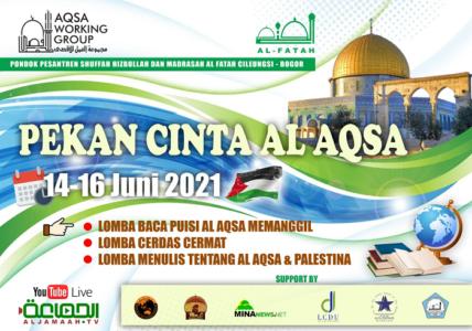 Madrasah Al Fatah dan AWG Adakan Pekan Cinta Al Aqsa