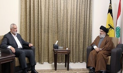Pemimpin Hamas dan Hizbullah Lebanon Adakan Pembicaraan