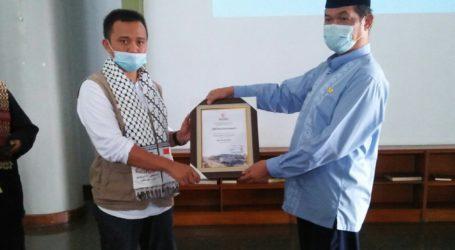 MER-C Terima Donasi Untuk Palestina Dari Warga Desa Gunung Putri, Bogor