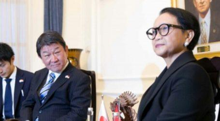 Menlu Jepang Telepon Menlu RI Bahas Myanmar