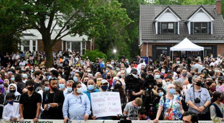 Ribuan Orang Gelar Aksi Dukung Keluarga Muslim yang Terbunuh di Kanada