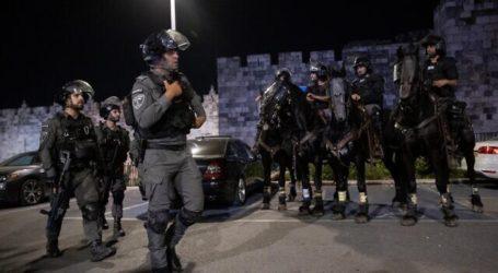 Warga Palestina Terluka Saat Pawai Bendera Israel Dimulai di Al-Quds
