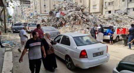 Duka Keluarga Abu Alouf Korban Agresi Israel di Gaza