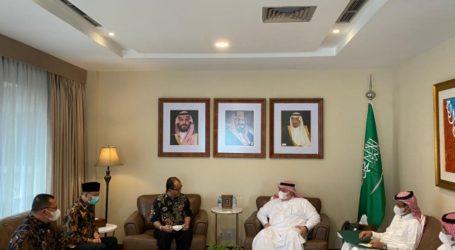 Tim Kemenag dan Kemkes Temui Dubes Saudi Bahas Umrah