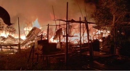 Desanya Dibakar, Ratusan Warga di Myanmar Sembunyi di Hutan