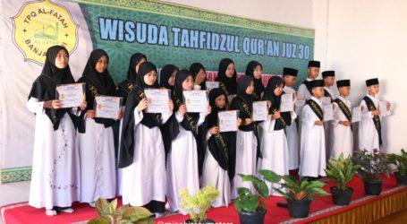 Pertamakali, TPQ Al-Fatah Talang Padang Adakan Wisuda