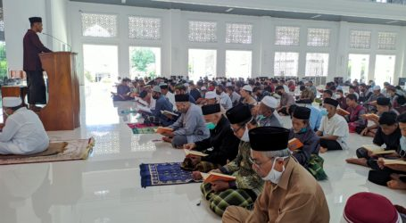 Masjid An-Nubuwwah Lazimkan Baca Al-Qur'an Berjamaah Ba'da Sholat  Fardhu