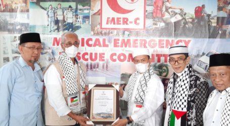 Persaudaraan Alumni 212 Salurkan Donasi Rp300 Juta Untuk Palestina Lewat MER-C