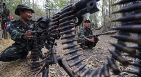 Pertempuran di Myanmar, Militer Bunuh Empat Milisi Sipil