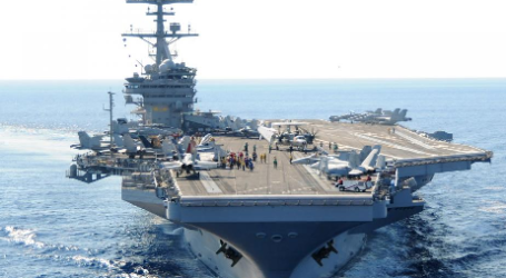 Kapal Induk Angkatan Laut AS Masuki Laut China Selatan