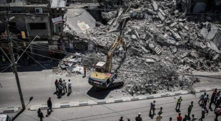 PM Palestina: Rekonstruksi Gaza Perlu Disertai Pencabutan Blokade