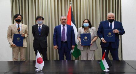 Jepang Hibah Barang Senilai USD 8 Juta untuk Palestina Perangi Covid-19