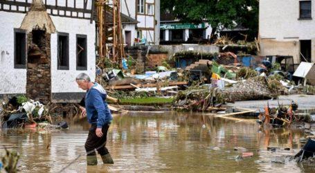 Banjir Dahsyat Landa Jerman dan Belgia, 93 Tewas, Ratusan Hilang