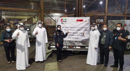 Bantuan UEA untuk Atasi Covid-19 Varian Delta tiba di Jakarta