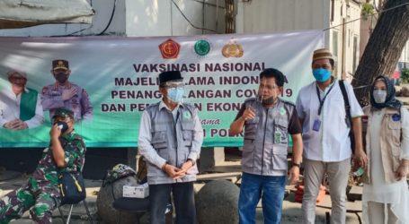 Vaksinasi Berjalan Lancar, Gernas MUI Apresiasi TNI dan Polri