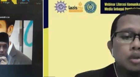 LPPM Uhamka dan Lazismu Gelar Webinar Literasi Komunikasi di Masa Pandemi