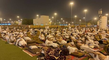 Jamaah Haji ke Muzdalifah Setelah Wukuf di Arafah