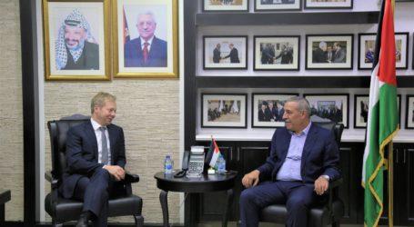 Utusan Uni Eropa Bertemu Pejabat Palestina