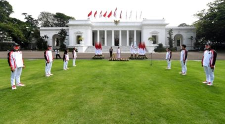 Presiden Jokowi Lepas Tim Olimpiade Tokyo 2021