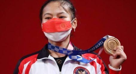 Aisah Raih Medali Pertama Indonesia di Olimpiade Tokyo